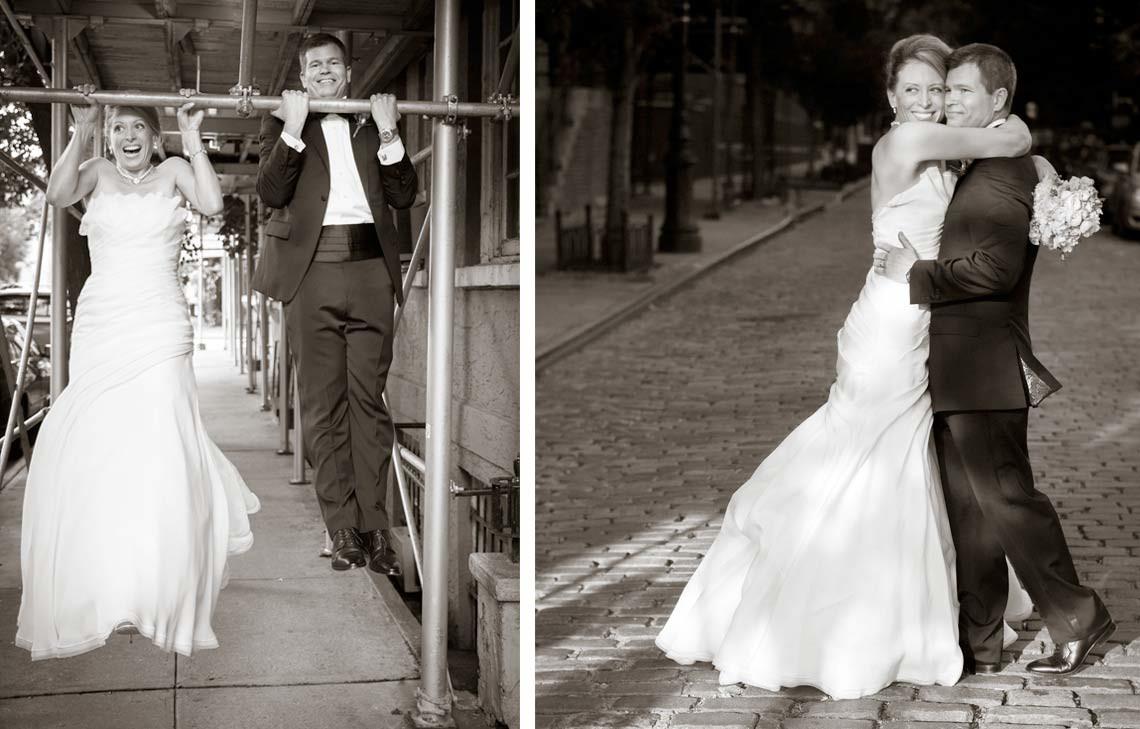 Photo by award-winning New York wedding photographer Laurie Rhodes capturing Rita and Everett